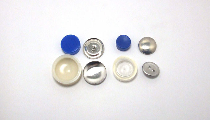 くるみボタンの種類と比較